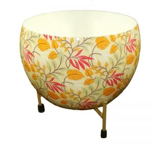 Fancy Round Pot With Stand